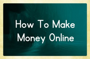 How to make money online without a investment