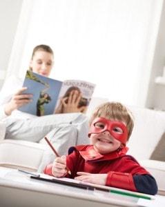 Creative superhero