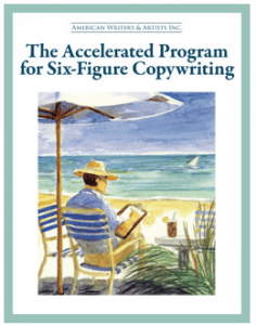 Cover of The Accelerated Program for Six-Figure Copywriting