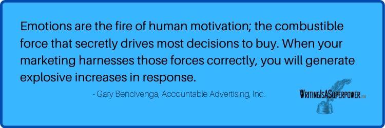 Gary Bencivenga quote (1)